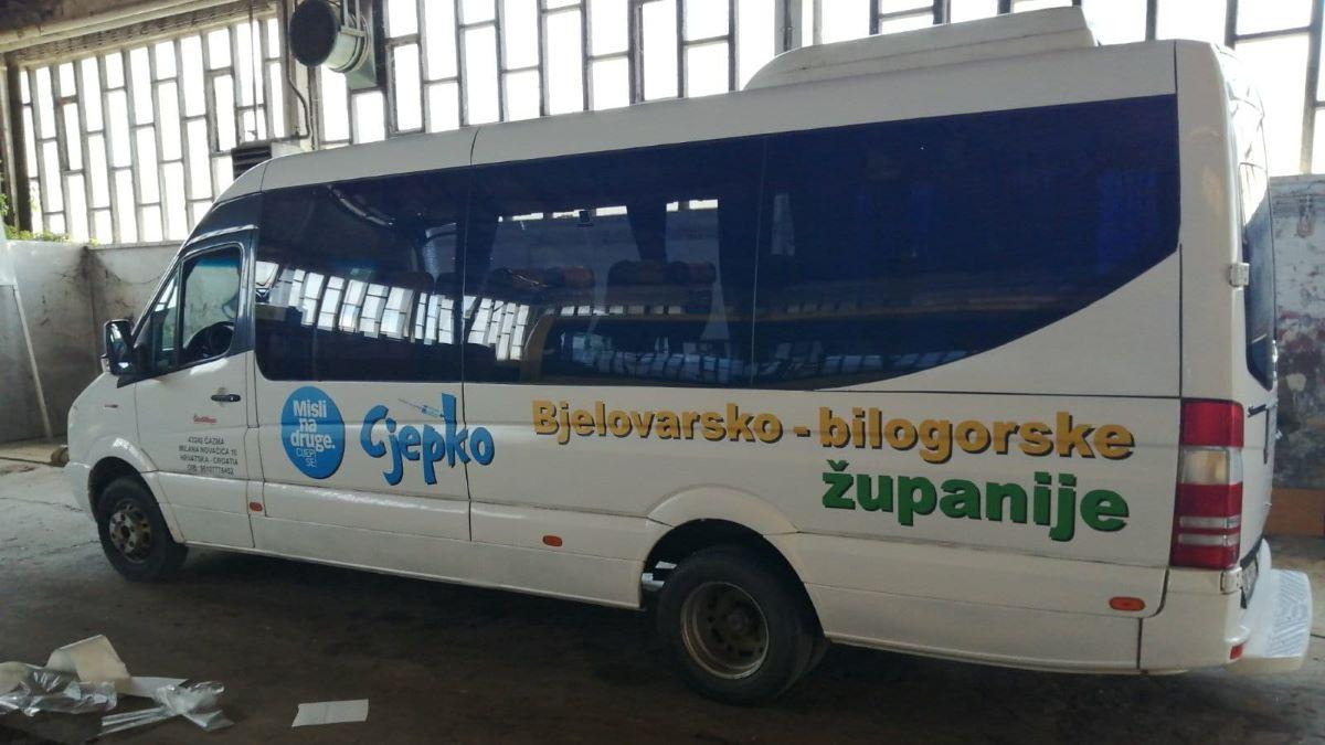 Covid-autobus sutra će po drugi put posjetiti Rovišće