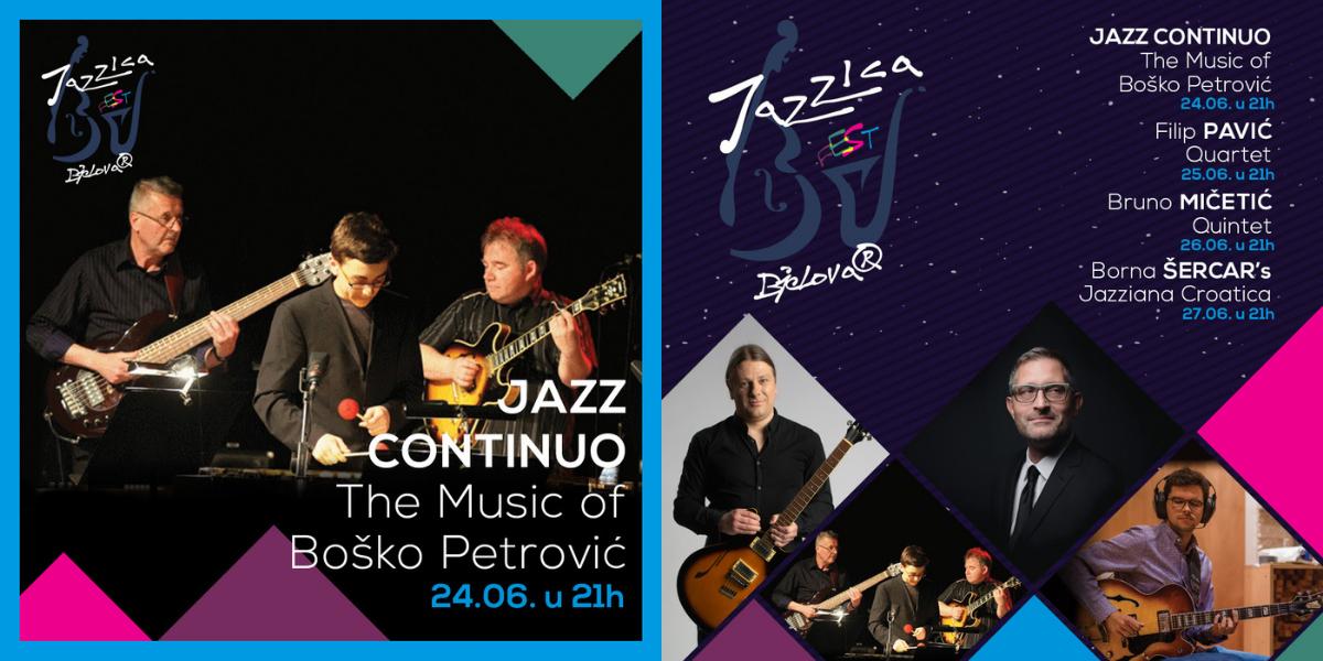 Glazbom Boška Petrovića otvara se ovogodišnji Jazzica Fest u Bjelovaru