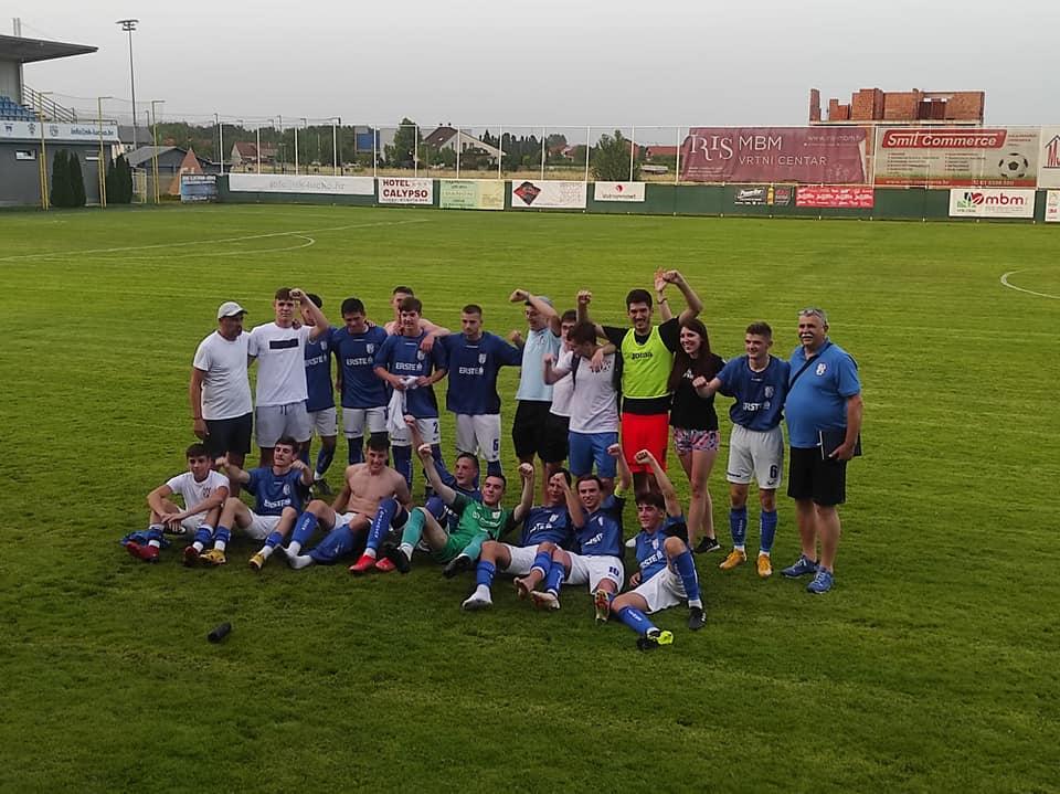 Juniori NK Bjelovara plasirali se u 1. HNL, trener Bošnjak sretan i ponosan