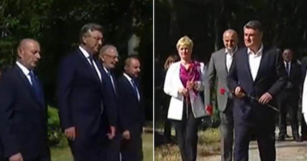 Plenković i Milanović nakon dugo vremena na istom mjestu u isto vrijeme