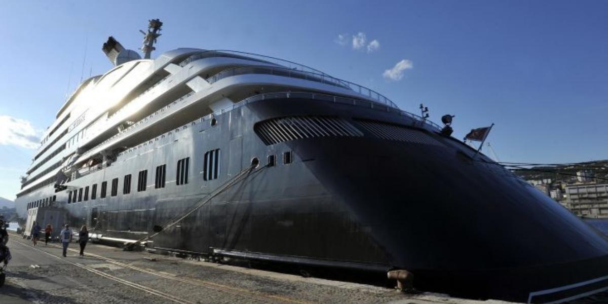 Ultraluksuzni kruzer kreće na testnu plovidbu