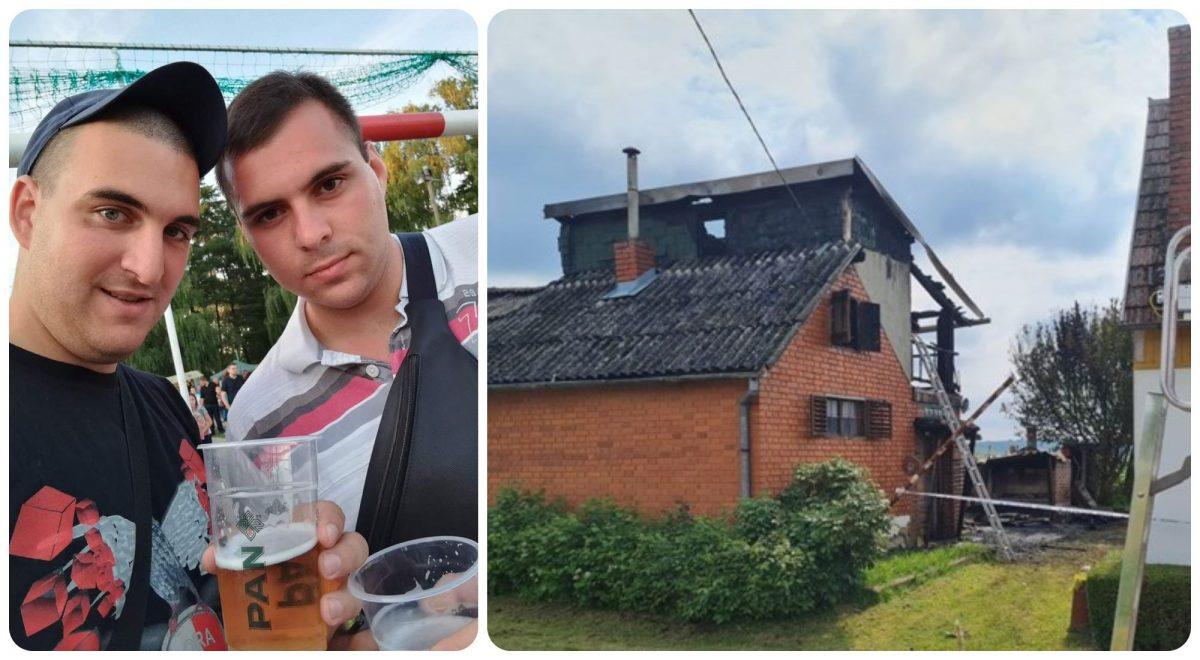 Prijatelji Mario i Luka izgorjeli u požaru vikendice u Puričanima