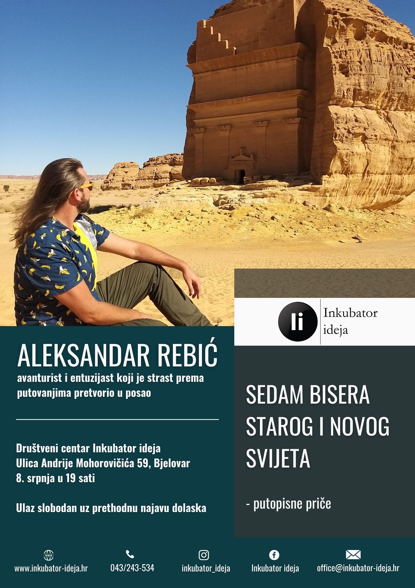 Aleksandar Rebić otkriva čari 'izgubljenih' gradova