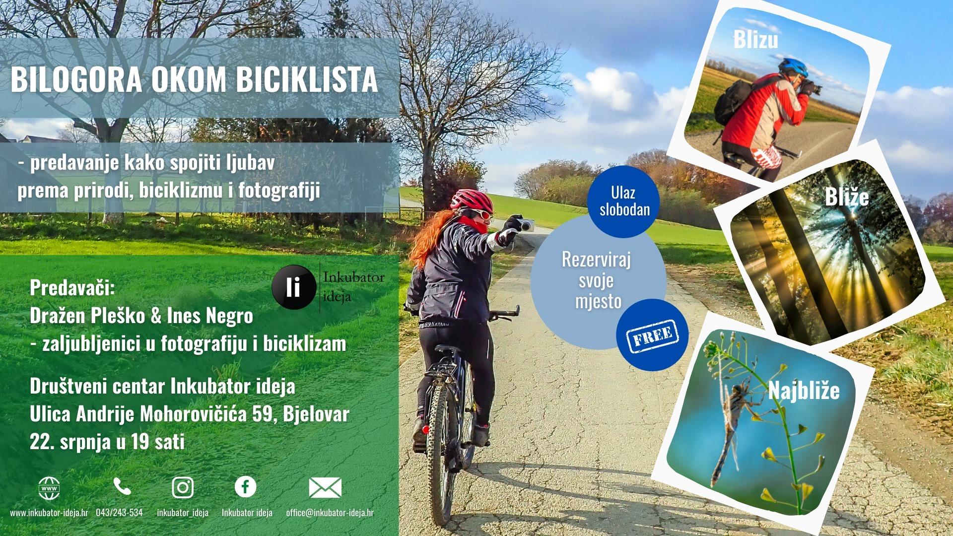 Bilogora okom biciklista - blizu, bliže najbliže!