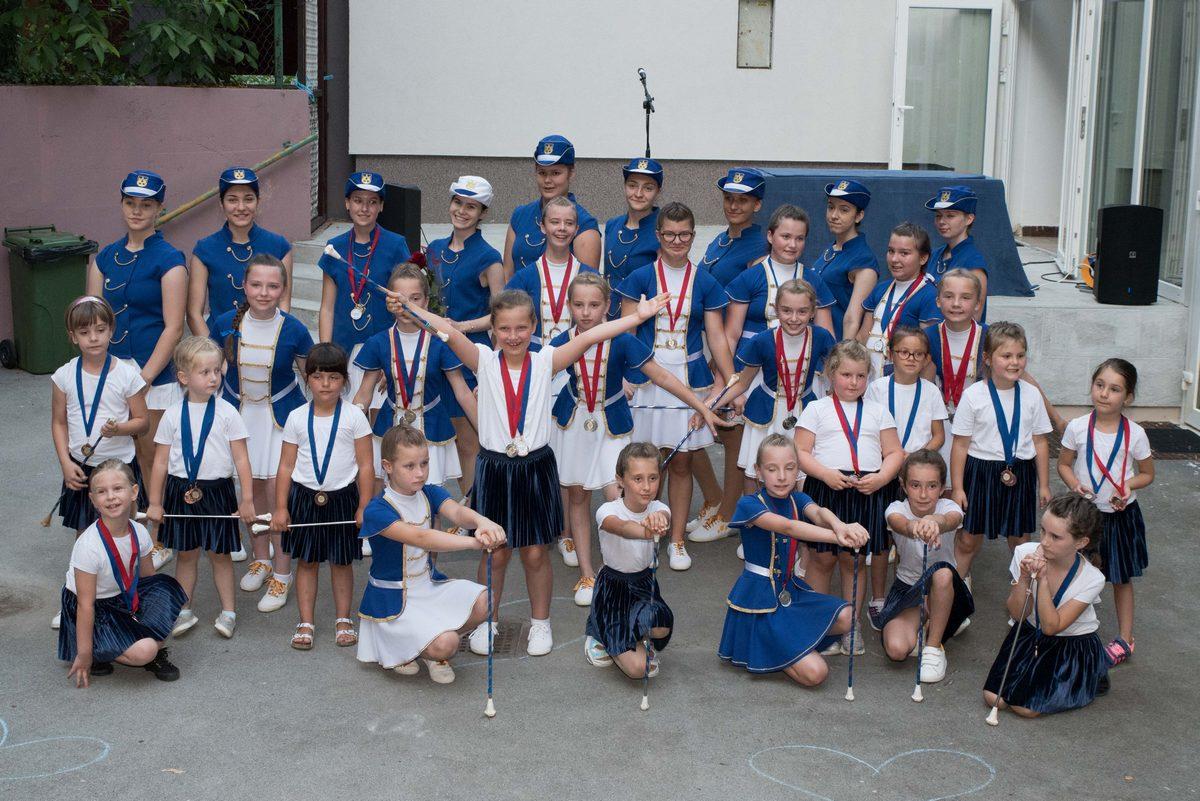Daruvarske mažoretkinje osvojile 54 medalje
