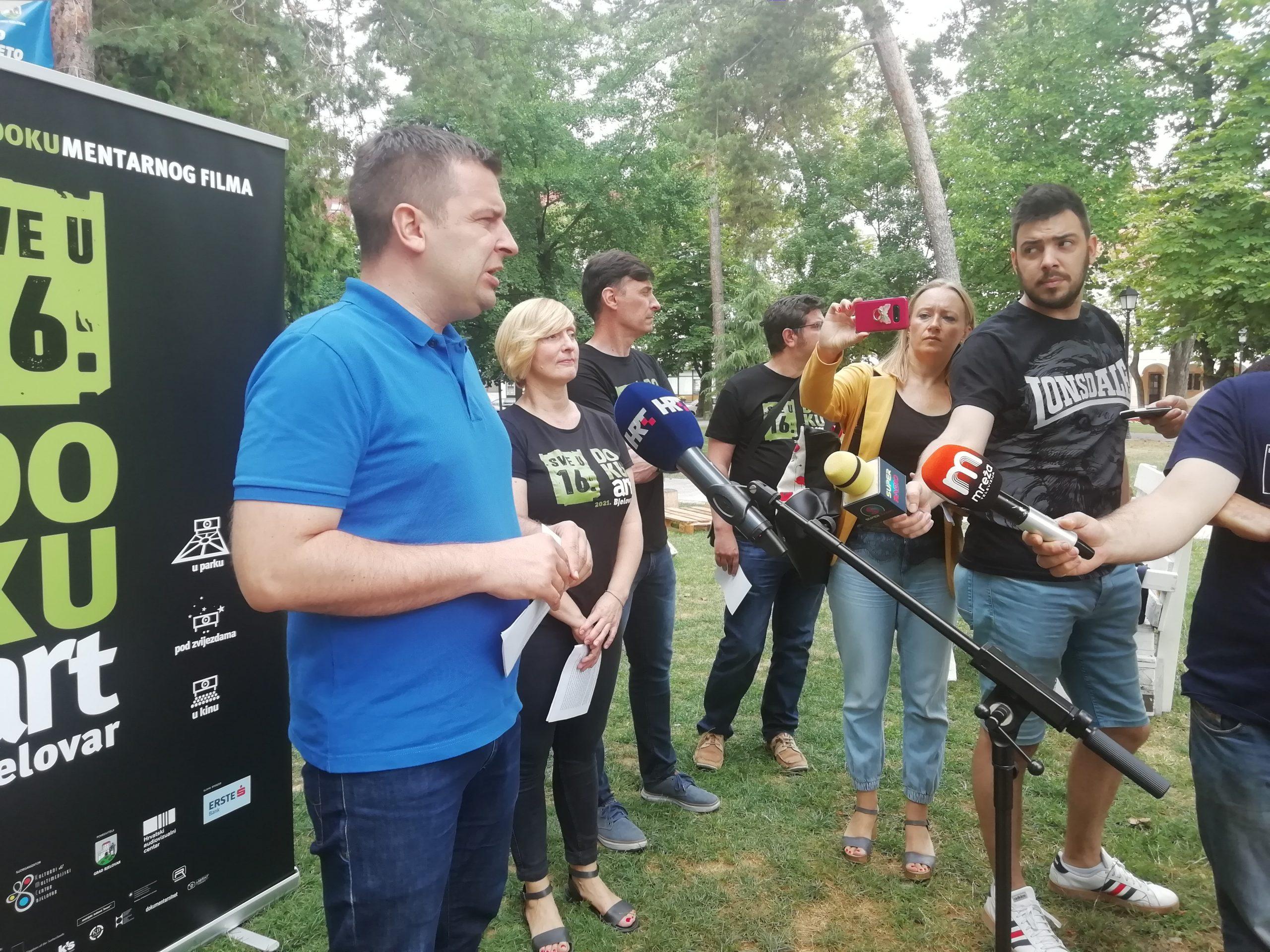 Prije glavnog festivala, DOKUart stiže u bjelovarski park