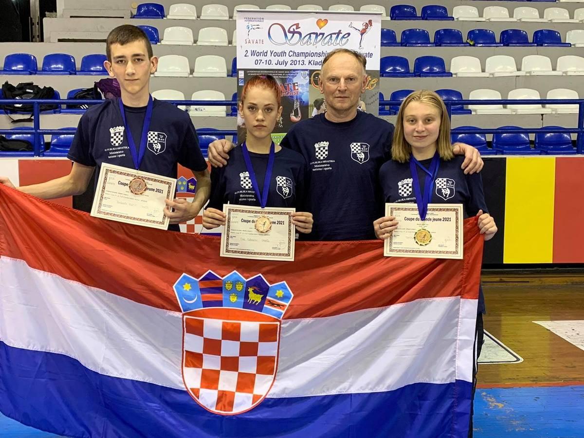 Savate klub Šan osvojio tri medalje