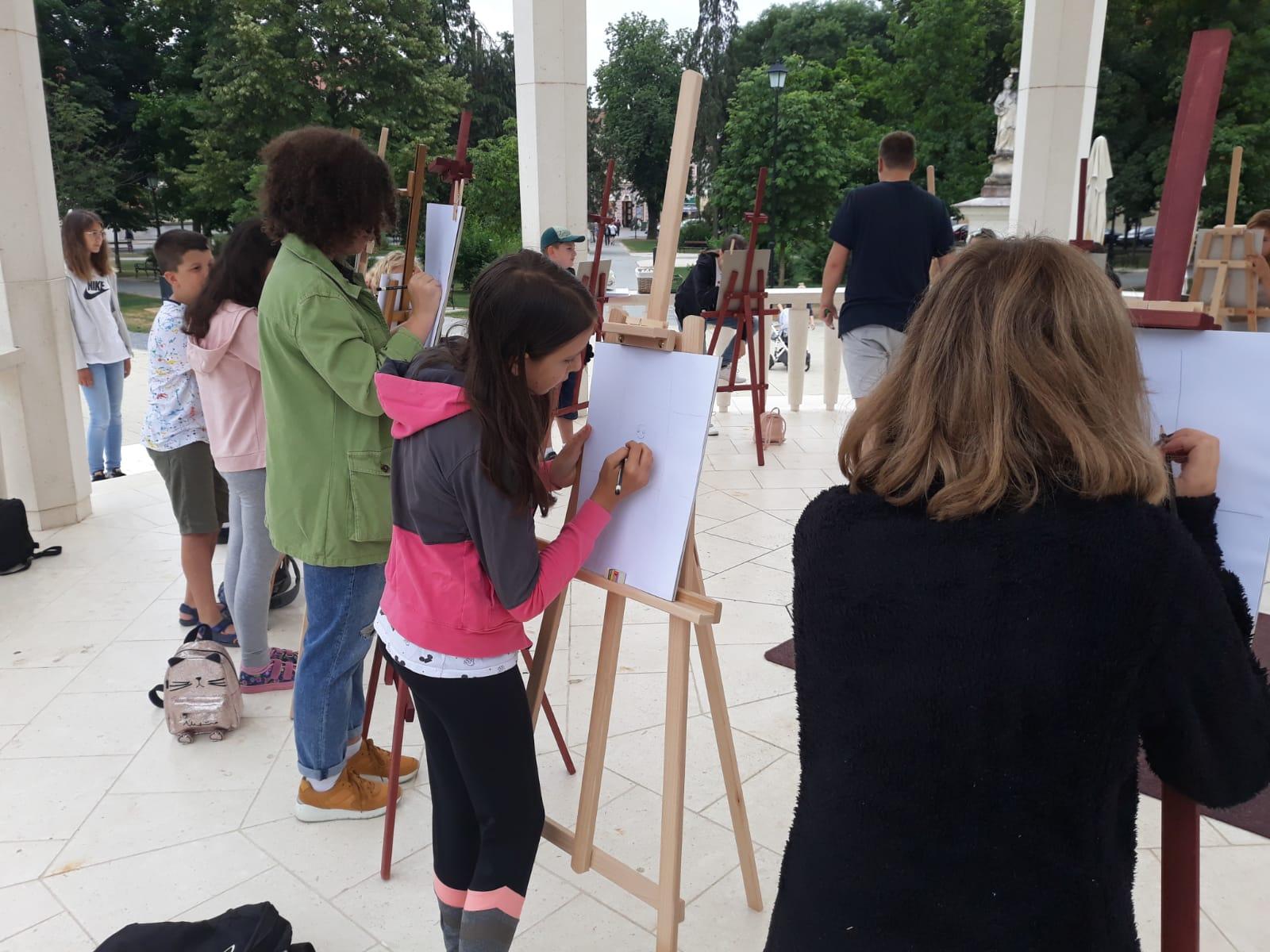 Nakon učenja francuskog i ruskog, bjelovarskom parkom zavladala 'Čarolija boja'