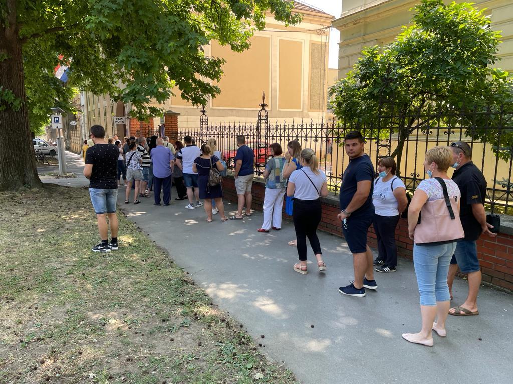 Samo u jednom danu se cijepilo više od 400 Bjelovarčana