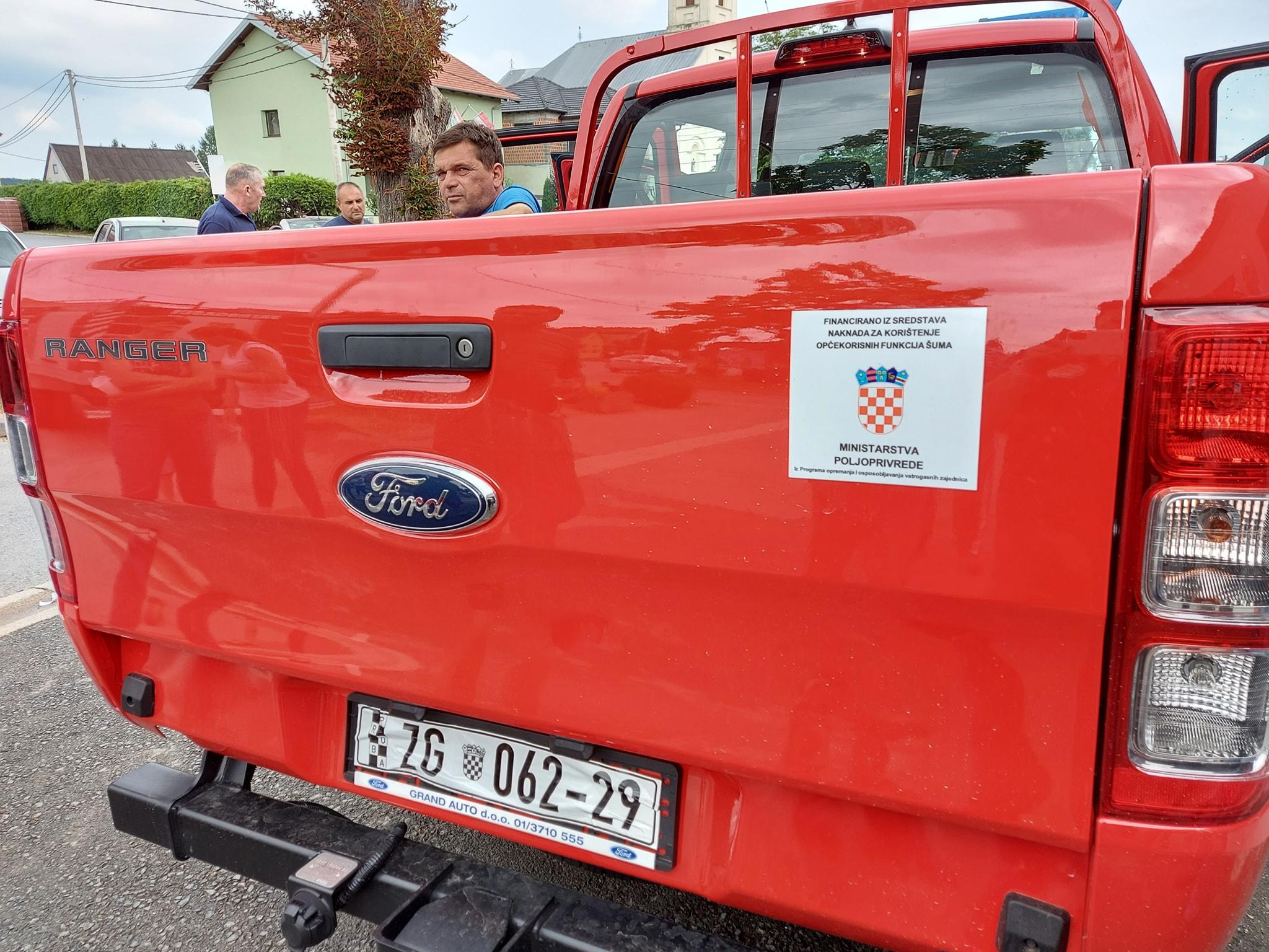 Vatrogasci dobili novo vozilo za intervencije