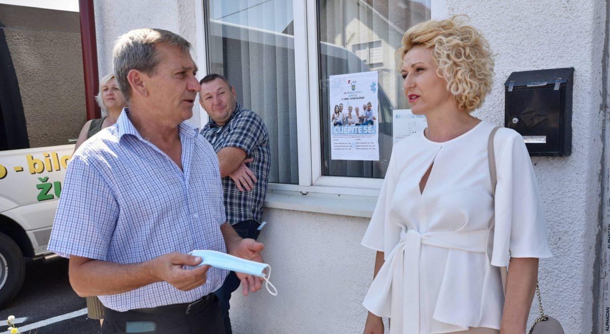 Jungić: Ne valja, nismo cijepili ni pola odraslih stanovnika županije