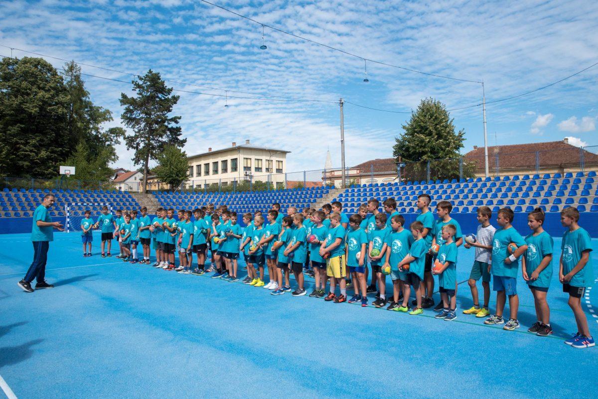 Na stadionu Sokol rukomet će igrati djeca iz Siska, Kutine, Petrinje,...