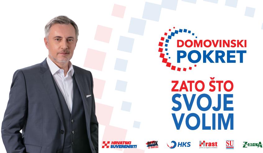 Tri metka u čelo Domovinskom pokretu Miroslava Škore