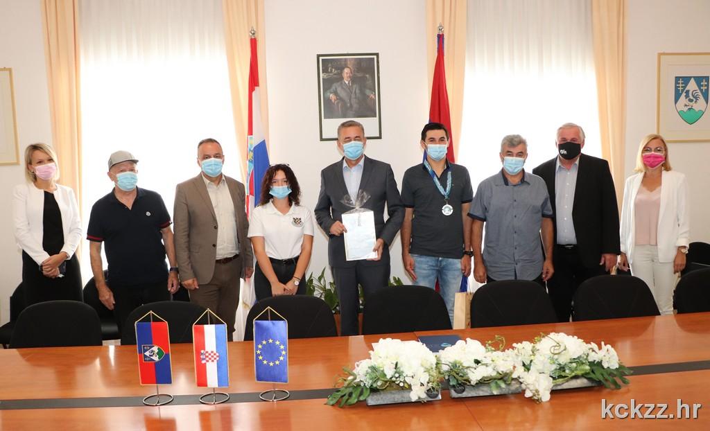 Župan održao prijem za Leona Međimureca i Lanu Picer