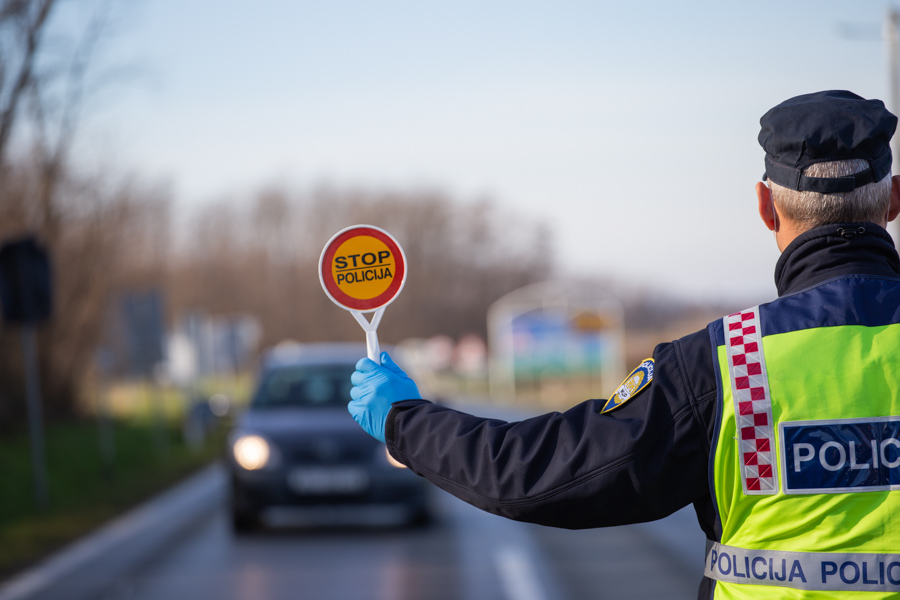 Najava pojačanih aktivnosti policije tijekom predstojećeg vikenda