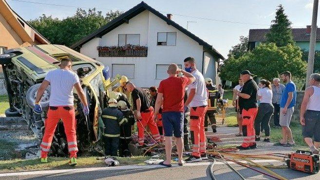 U sudaru hitne pomoći i vozila poginula majka supruge župana Marka Marušića