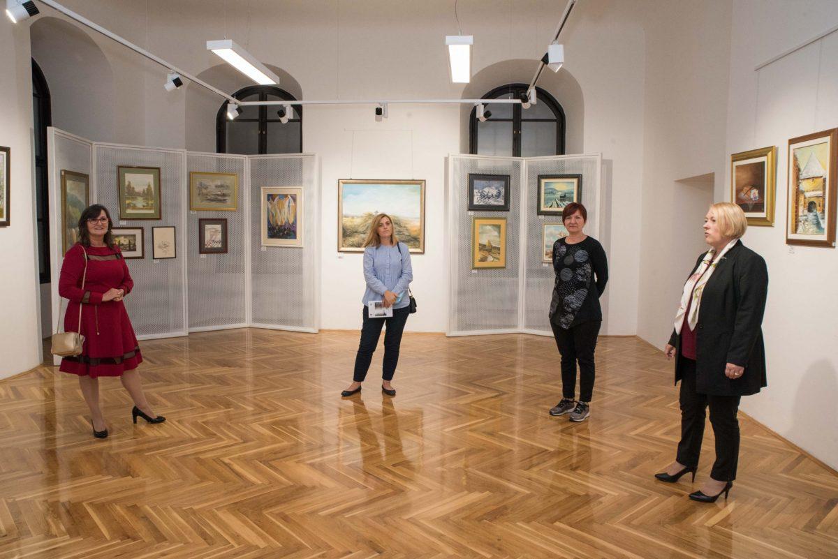 Humanitarna prodajna izložba slika iz fundusa Centra Rudolfa Steinera
