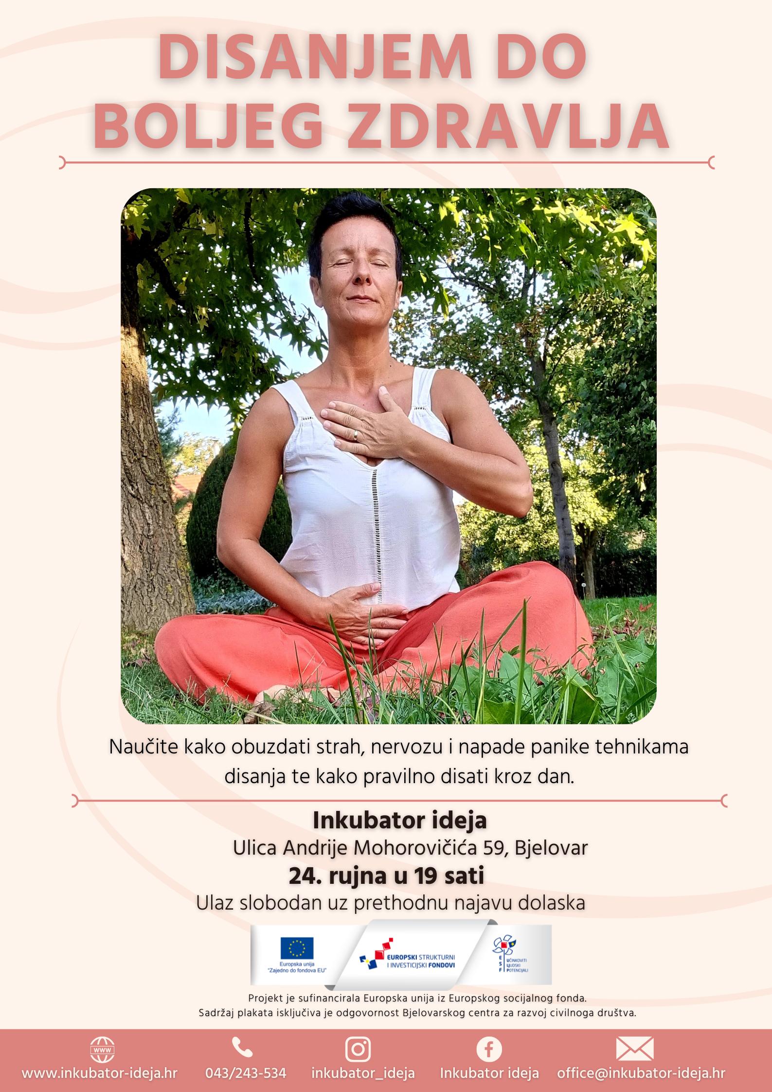 Marijana Jurković otkriva kako disanjem do boljeg zdravlja
