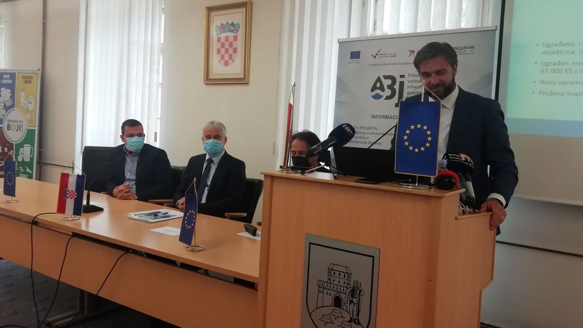 Ministar Ćorić: Drago mi je da projekt napreduje prema planu