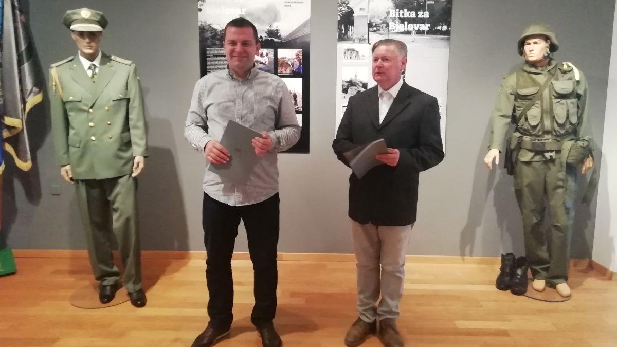 Povijesna izložba koja prikazuje minobacač bjelovarske proizvodnje, ali i nikad objavljene fotografije