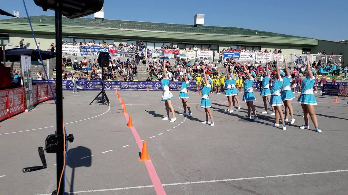 Bjelovarčanke nisu razočarale na Državnom mažoret prvenstvu