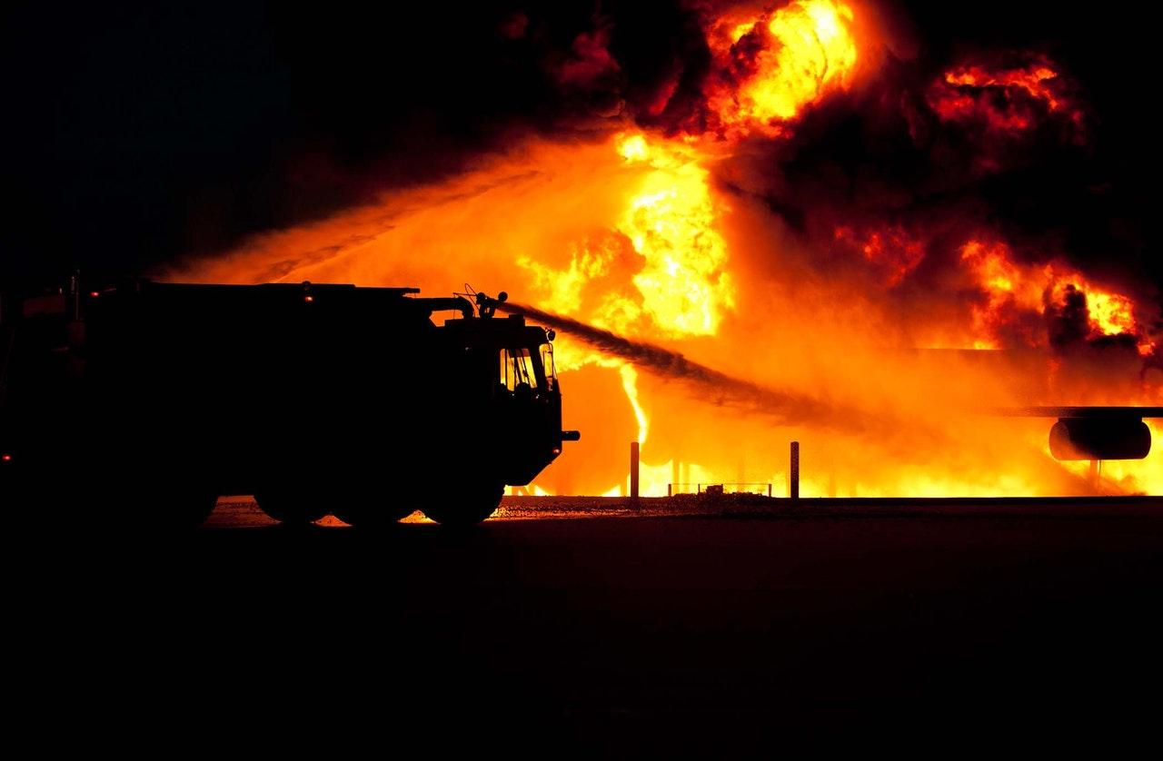 Veliki požar u Staroj Ploščici, stradale životinje, zgrade i strojevi