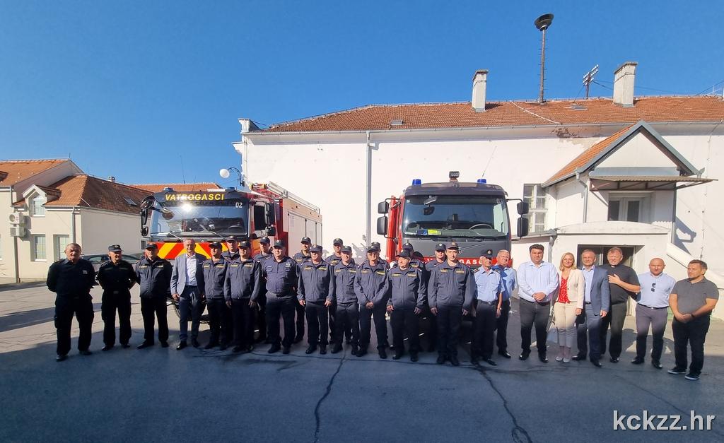 Križevački vatrogasci dobili nova, moderna vozila