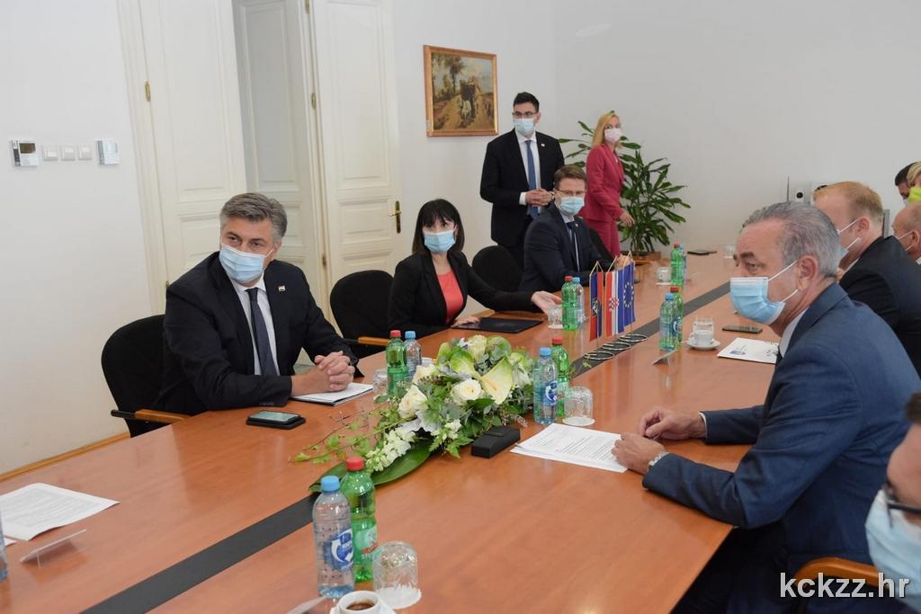 Premijer Plenković: Ubrzat ćemo procese kako bi brza cesta nakon dionice do Kloštra došla i do Koprivnice