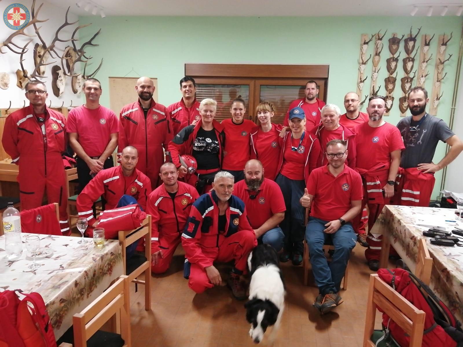 Bjelovarski i požeški HGSS-ovci uspješno odradili akciju spašavanja
