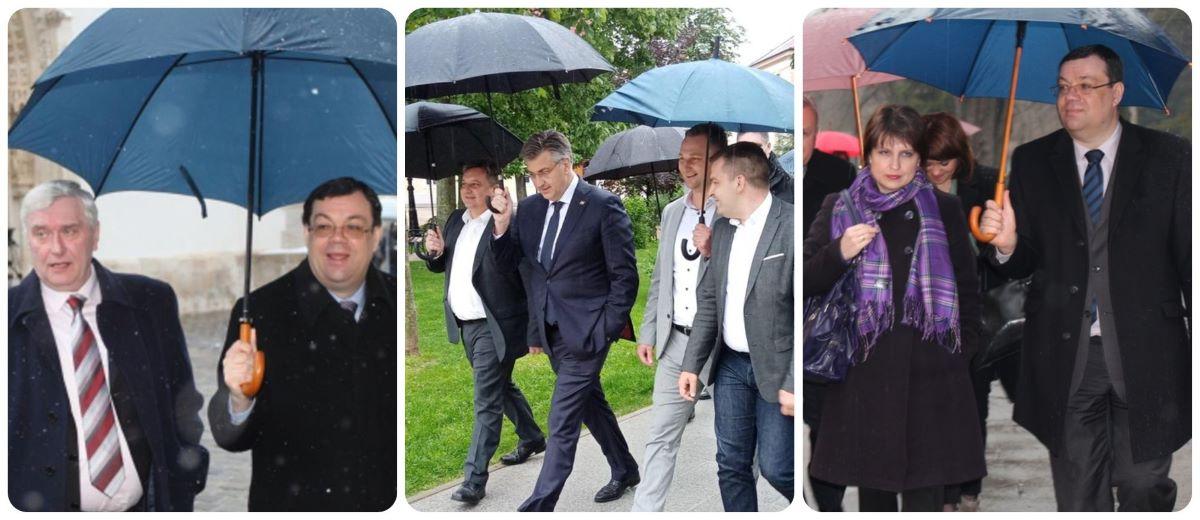 Izbori za novog lidera, medijski agitprop i tko kome drži kišobran