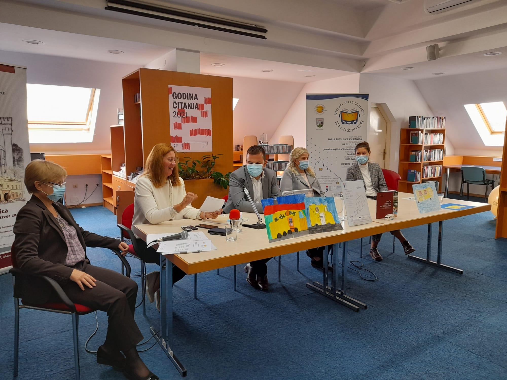 Bjelovarska knjižnica dobiva novi bibliobus, stići će taman za 50. rođendan jedinstvene službe!