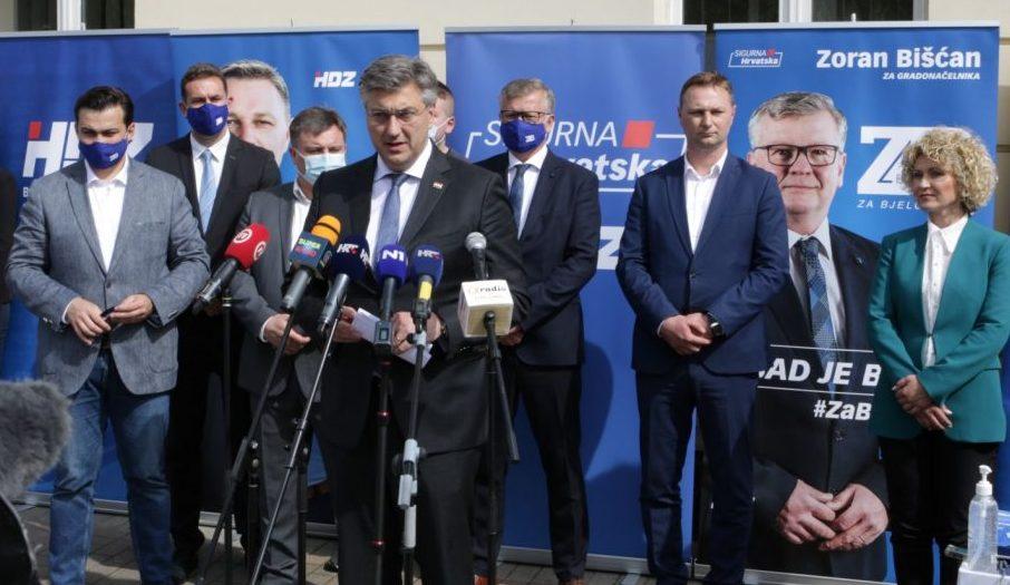 Konačno poznato tko će preuzeti bjelovarski HDZ - presudio razgovor s Plenkovićem
