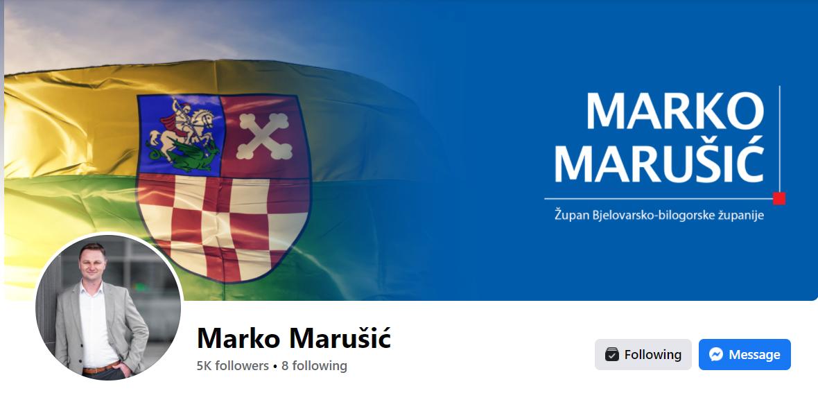 Bjelovarski župan među najpopularnijim kolegama na Facebooku