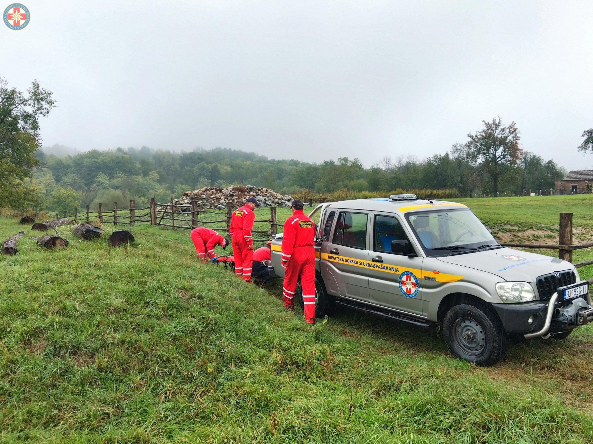 Daruvarski HGSS-ovci pronašli su nestalu osobu, ali…