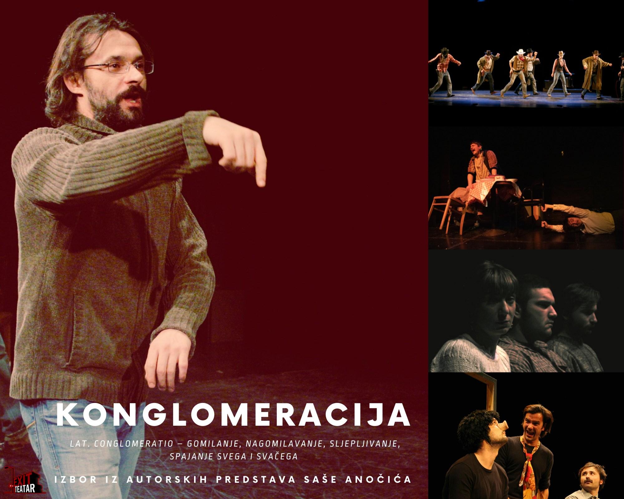 Kazališni festival završava 'Konglomeracijom' u čast Saši Anočiću