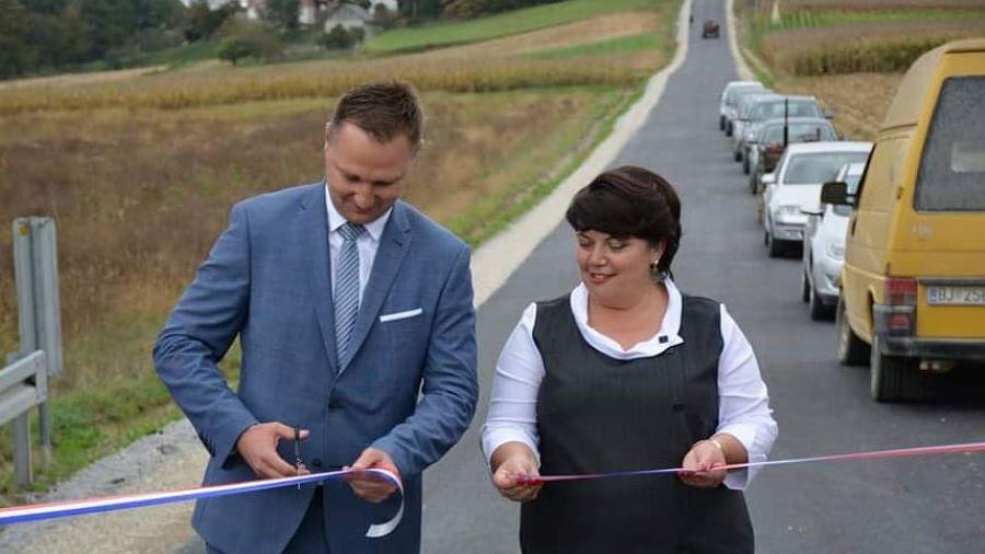 Asfaltiranje ceste u potpunosti platila Županijska uprava za ceste